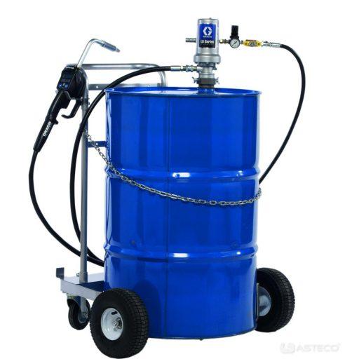 Zestaw olejowy na wózku z miernikiem LD