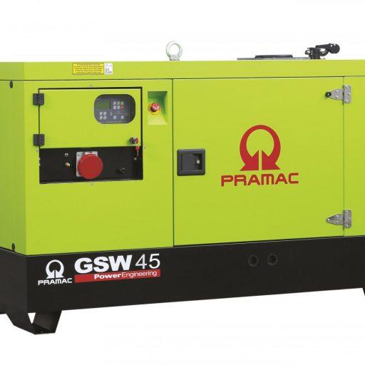 agregat prądotwórczy pramac GSW45