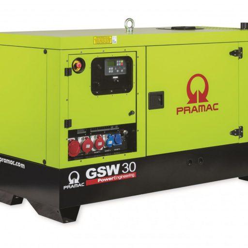 stacjonarny agregat prądotwórczy pramac GSW35