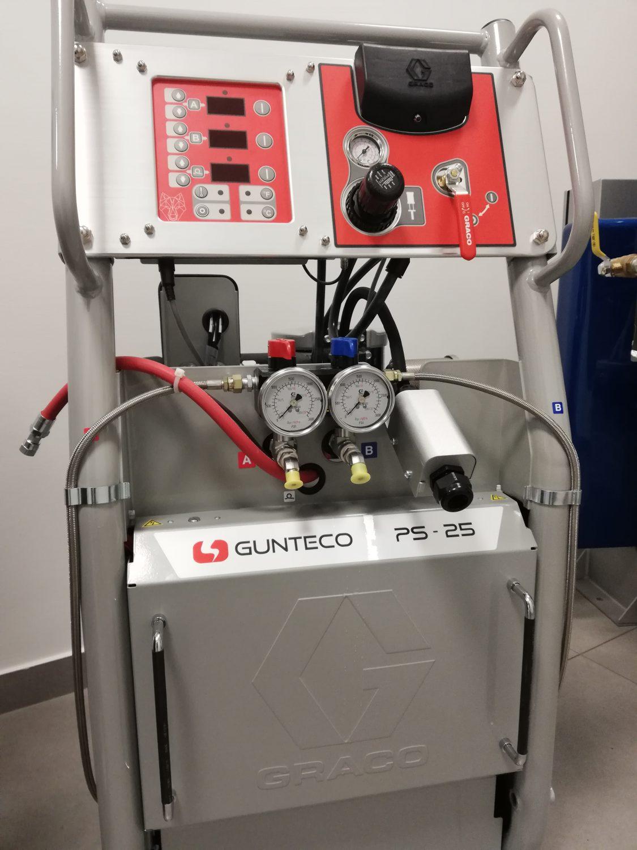 reaktor do natryskiwania piany graco gunteco ps-25